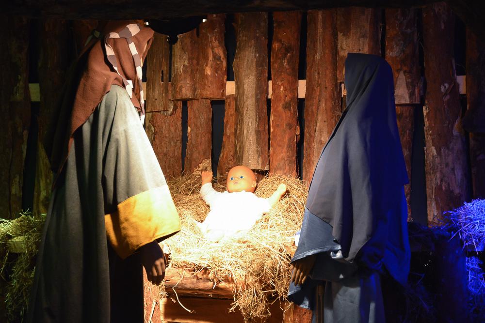 Bożonarodzeniowe szopki w śremskich kościołach