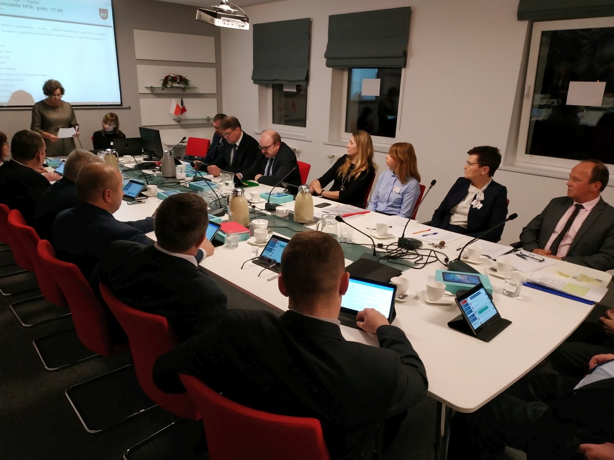Druga część I sesji Rady Miejskiej w Książu Wielkopolskim