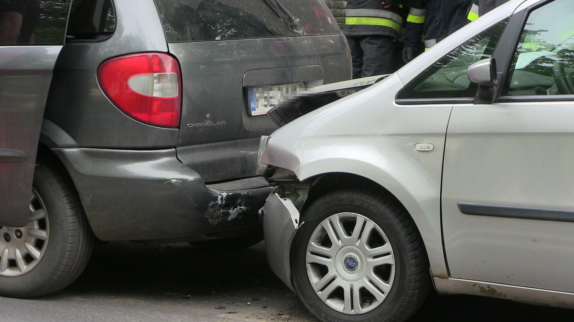 Kolizja trzech aut na ul. Kilińskiego
