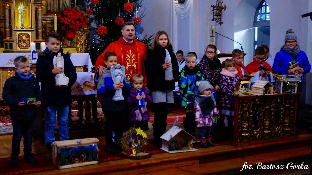 Konkurs szopek bożonarodzeniowych - Wieszczyczyn 26.12.2017r