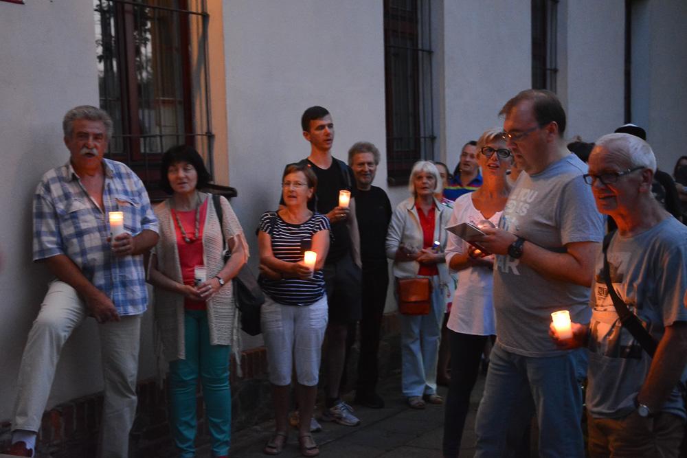 Łańcuch Światła - dzień drugi - 21.07.17 r.