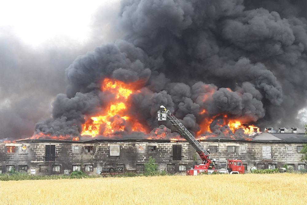 Pożar kurnika - 26.06.18 r.