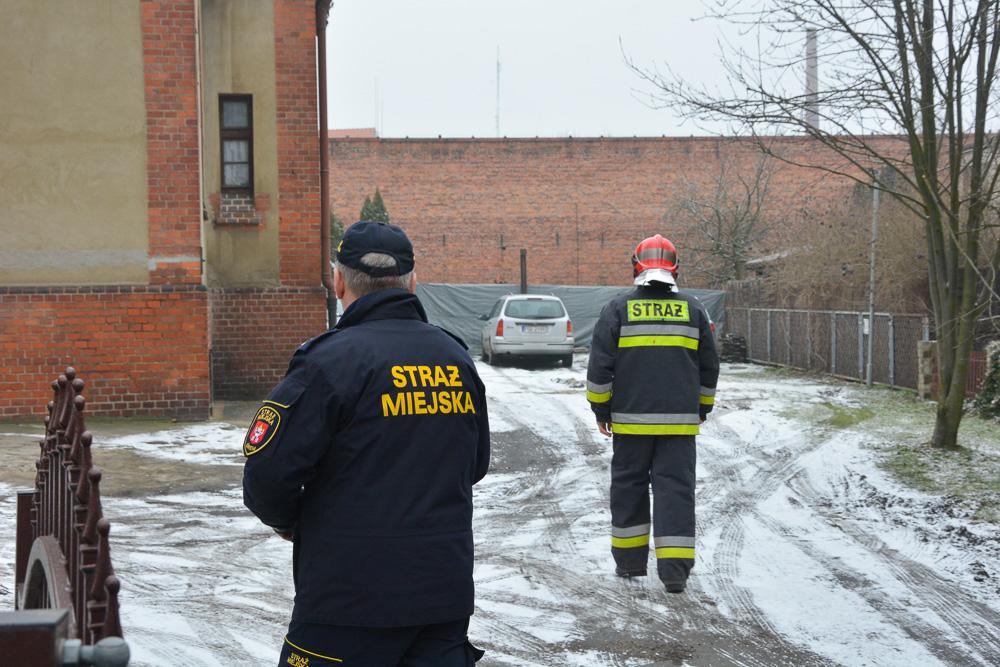 Pożar w mieszkaniu - ul. Mickiewicza - 14.02.18 r.