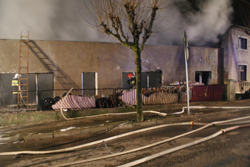 Pożar w byłym Kerberze