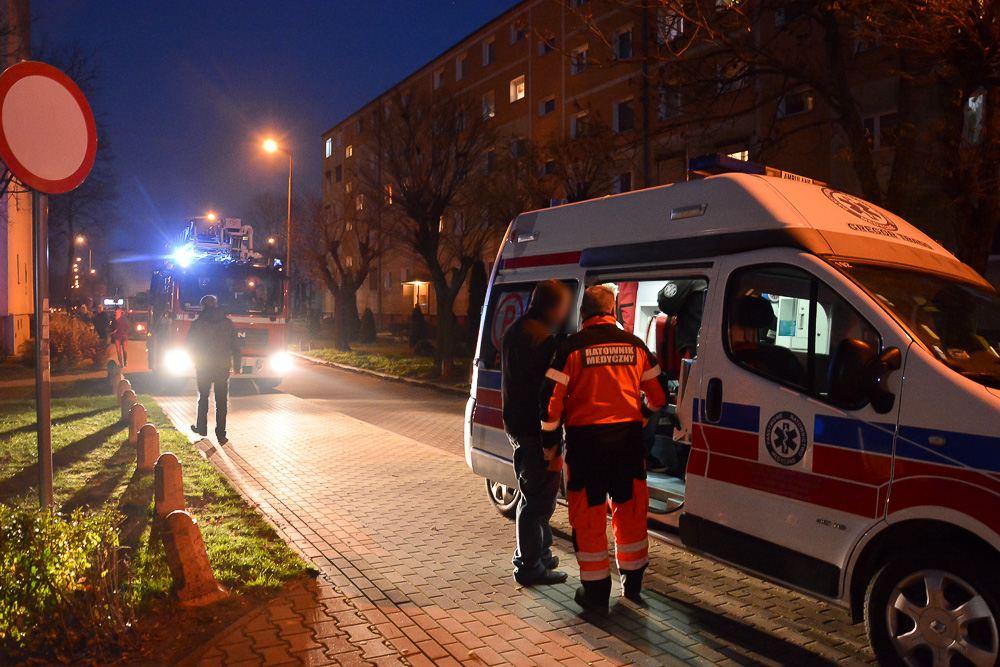 Przypalony garnek - ul. Okulickiego - 03.12.17 r.