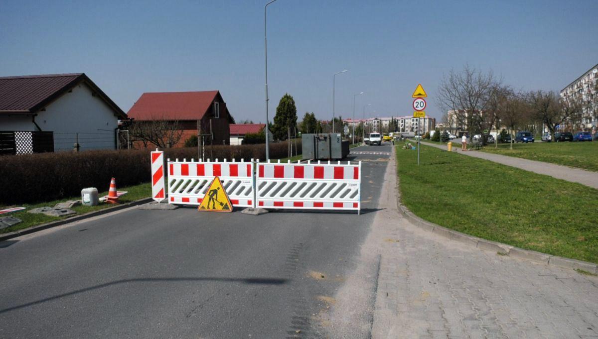 Remont kanalizacji deszczowej na ul. Staszica / Patryk Kubski