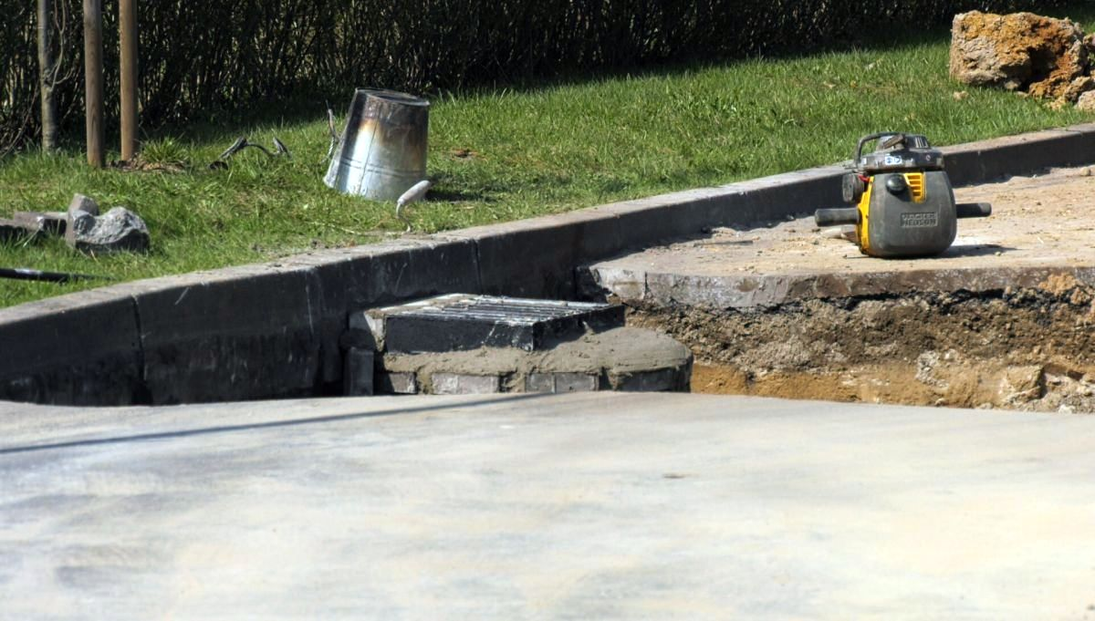 Remont kanalizacji deszczowej na ul. Staszica