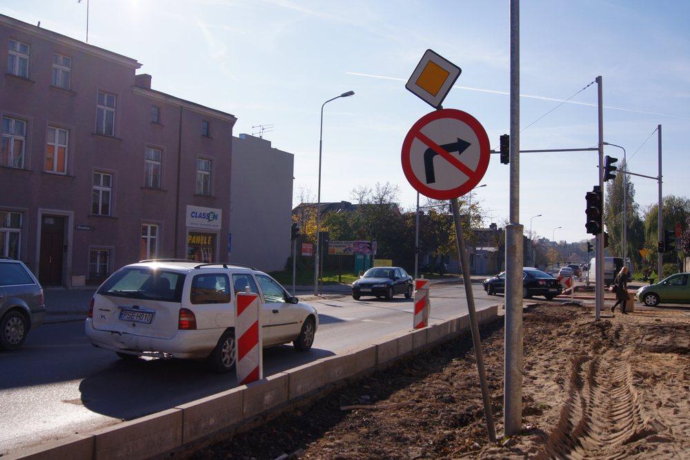Remont ul. Piłsudskiego i mostu 23 stycznia