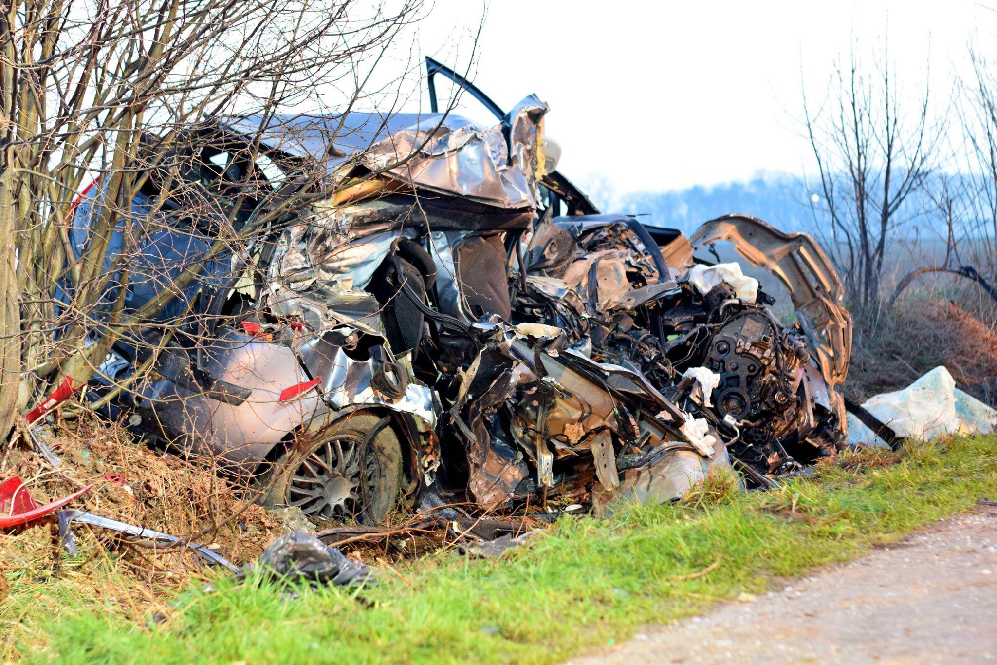 Śmiertelny wypadek na drodze Błociszewo-Donatowo