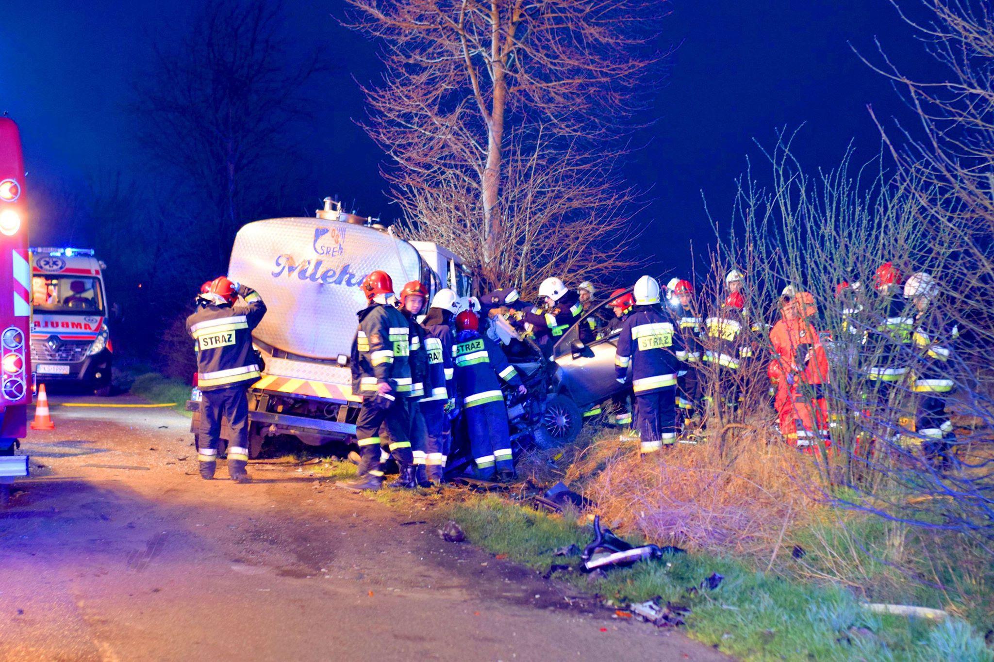 Śmiertelny wypadek na drodze Błociszewo-Donatowo / Michał Czubak / Tydzień Ziemi Śremskiej