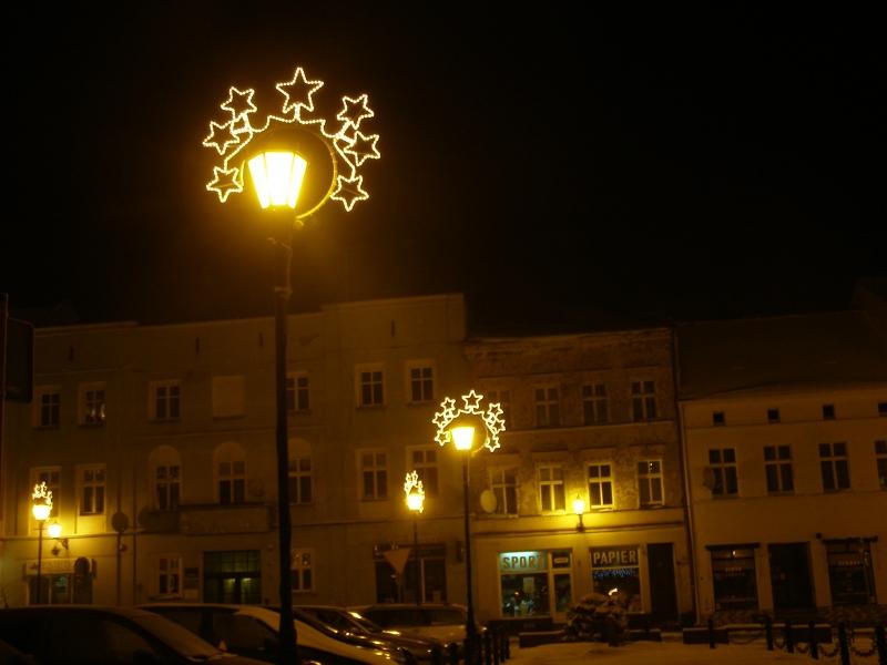 Świąteczne iluminacje na śremskich ulicach