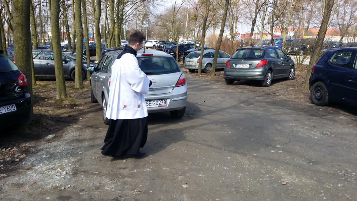Święcenie pojazdów u Ducha Świętego i we Farze