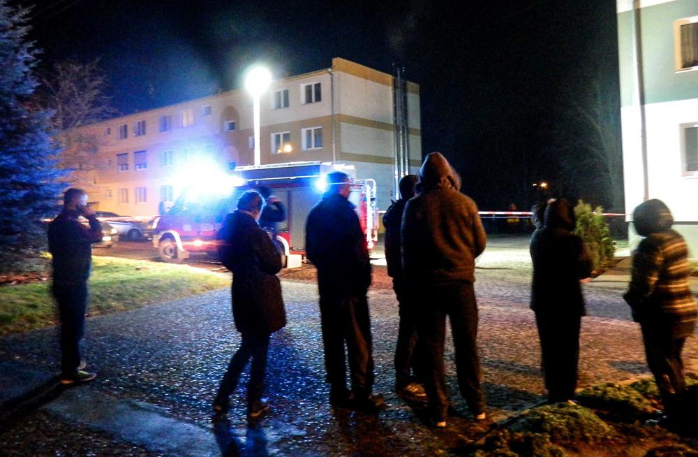Wybuch w mieszkaniu w Manieczkach - 19.12.2015 r.