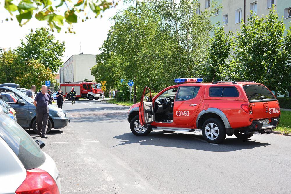 Wyciek gazu z przesyłki kurierskiej - 18.07.17 r.