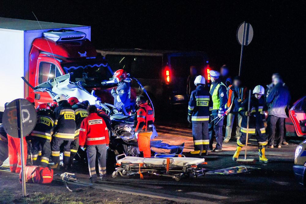 Wypadek na obwodnicy Śremu - 07.12.14r.