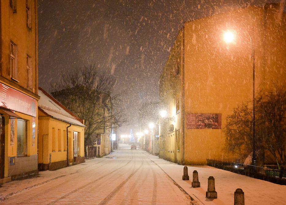 Zima w mieście - 16.01.18 r.